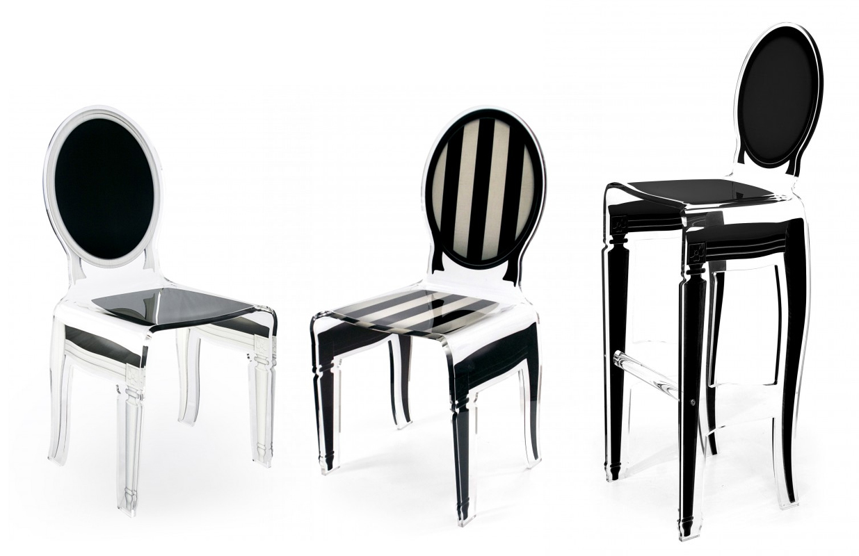 Chaise nos 10 coups de coeur pour une belle salle for Chaise en acrylique