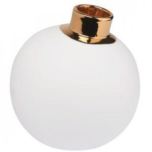 Vase en porcelaine Boule de Neige de Räder