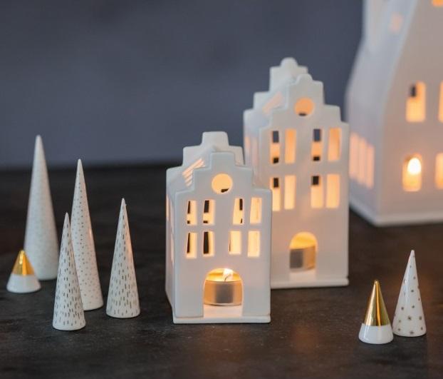 Petites lanternes en porcelaine Räder